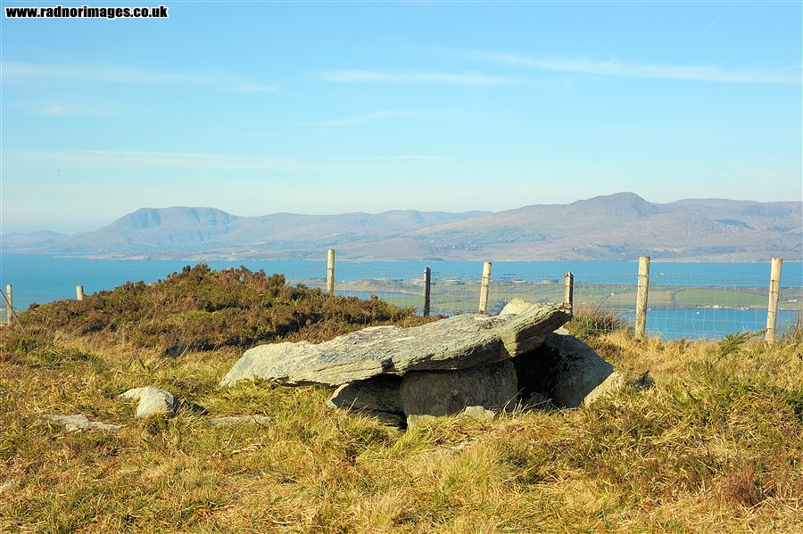 Dolmen on Knocknaveagh