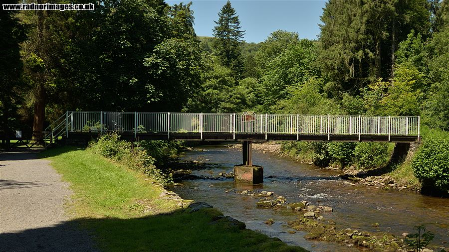 Footbridge, Craig y Nos Country Park