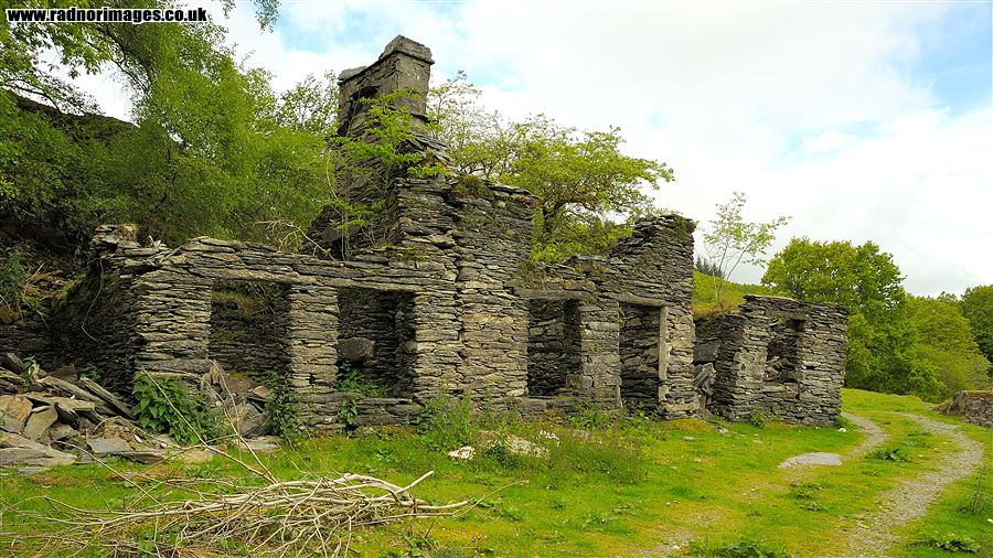 Ruined cottages