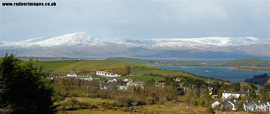 Sugarloaf and Caha mountains