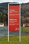 Royal Welsh Showground Welcome sign